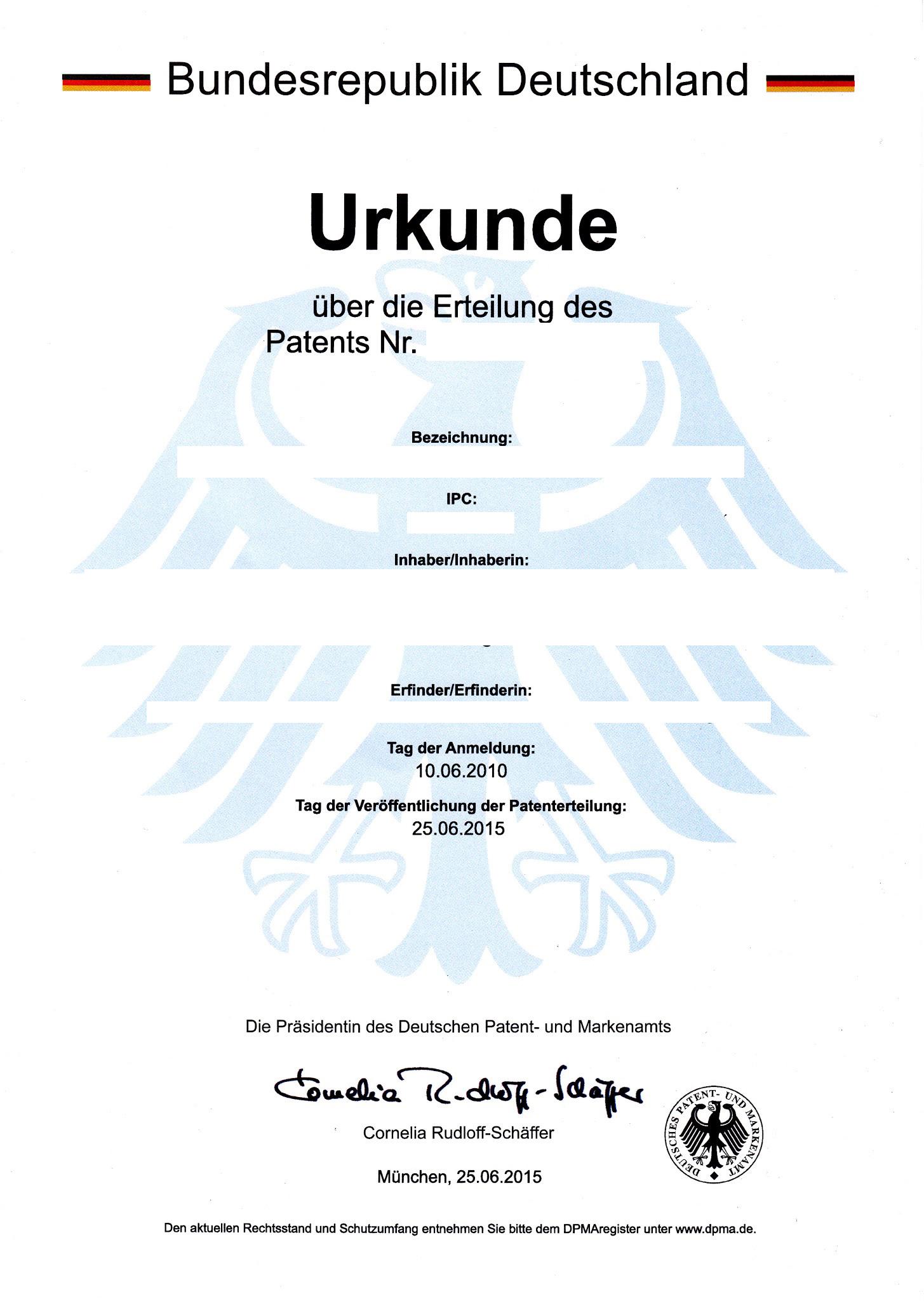 Patentieren