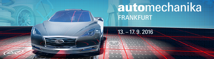 Coverphoto der Automechanika 2016 in Frankfurt am Main