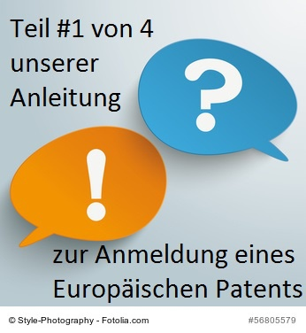 ein Europäisches Patent anmelden #1