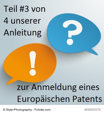 ein Europäisches Patent anmelden #3