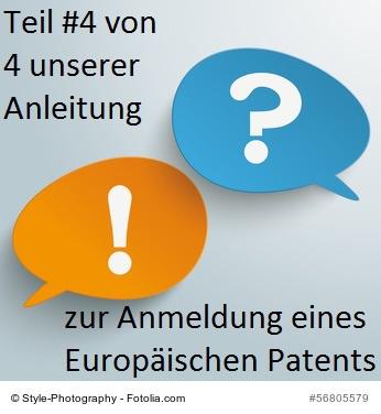 ein Europäisches Patent anmelden #4