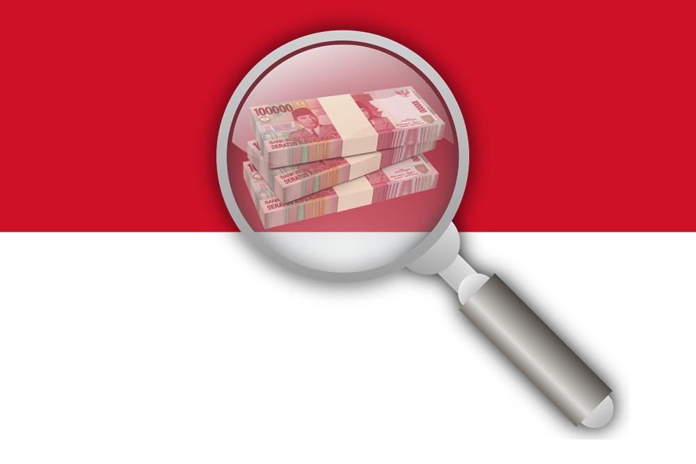 Indonesia-Flag-Magnifier-Rupiah