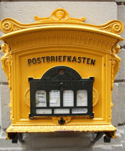 German mail box