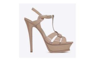 Tribute shoe by Yves Saint Laurent
