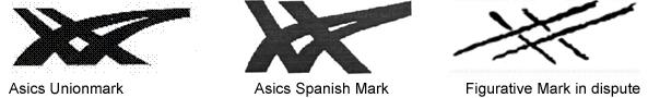 asics figurative marks