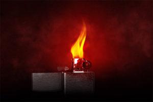 Flammpunktprüfung