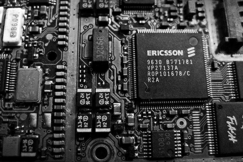 Ericsson Platine