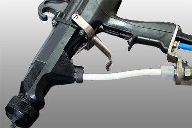 Design einer Spritzpistole