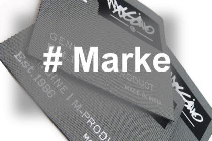 Hashtag in einer Marke – wahrscheinlichste Verwendungsformen relevant