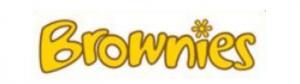 Brownie in stilisierter Form