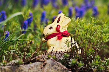 Easter bunny system relevant, but as Lindt GOLDHASE no 3D mark