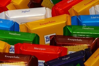 BGH and Ritter Sport: Product shape with functional features