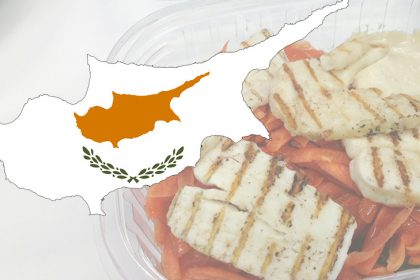 Cyprus unsuccessful against mark Halloumi from Greece
