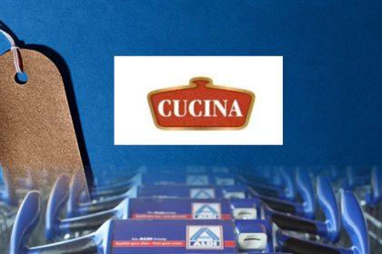 Aldi mark CUCINA rejected: descriptive character