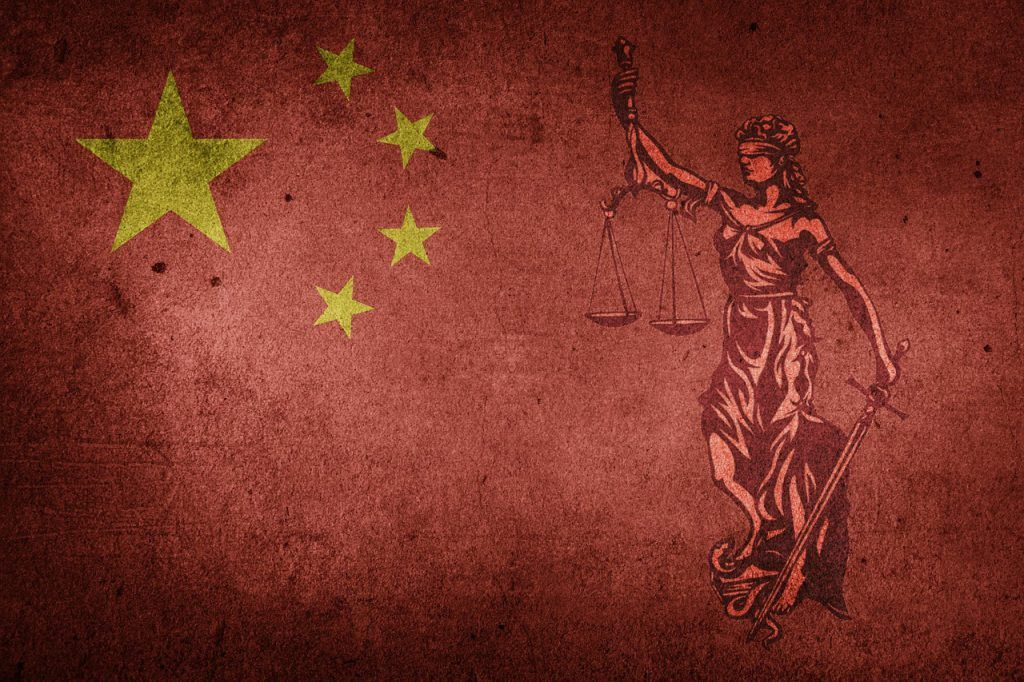 China_Flagge_Justitia
