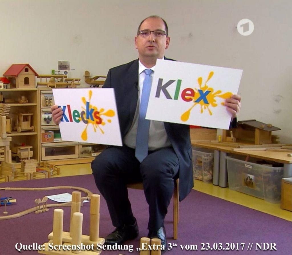 Kindergarten-Klex-Klecks-Markenname