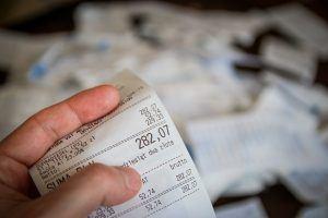 Rechnung-Schaden-Schadensersatz