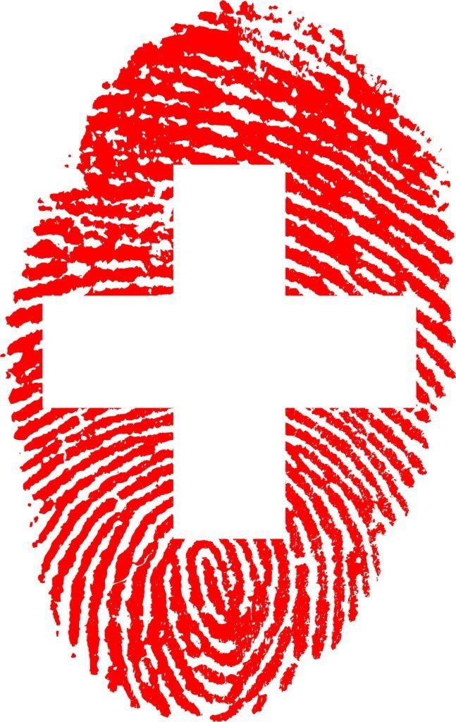 Swissness Schweizer Fingerabdruck