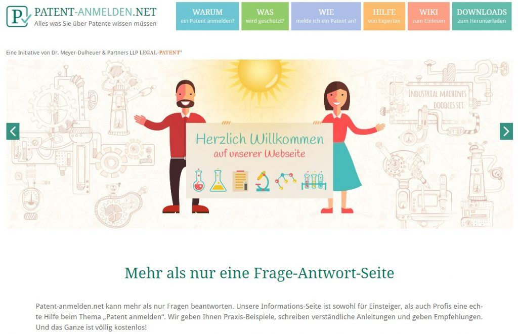 Startseite-Patent-anmelden.net