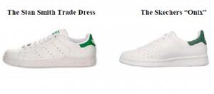 Stan Smith Shoe versus Skecher's Onix
