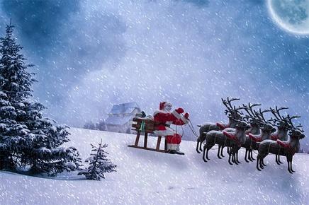 Santa Claus Slide
