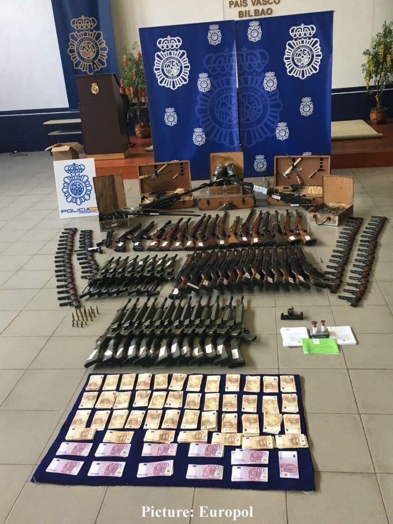 seized firearms productpiracy EUROPOL